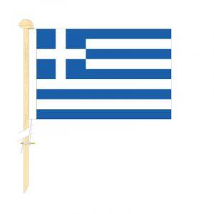 Tafelvlag Griekenland afm. 10x15cm
