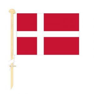Tafelvlag Denemarken afm. 10x15cm