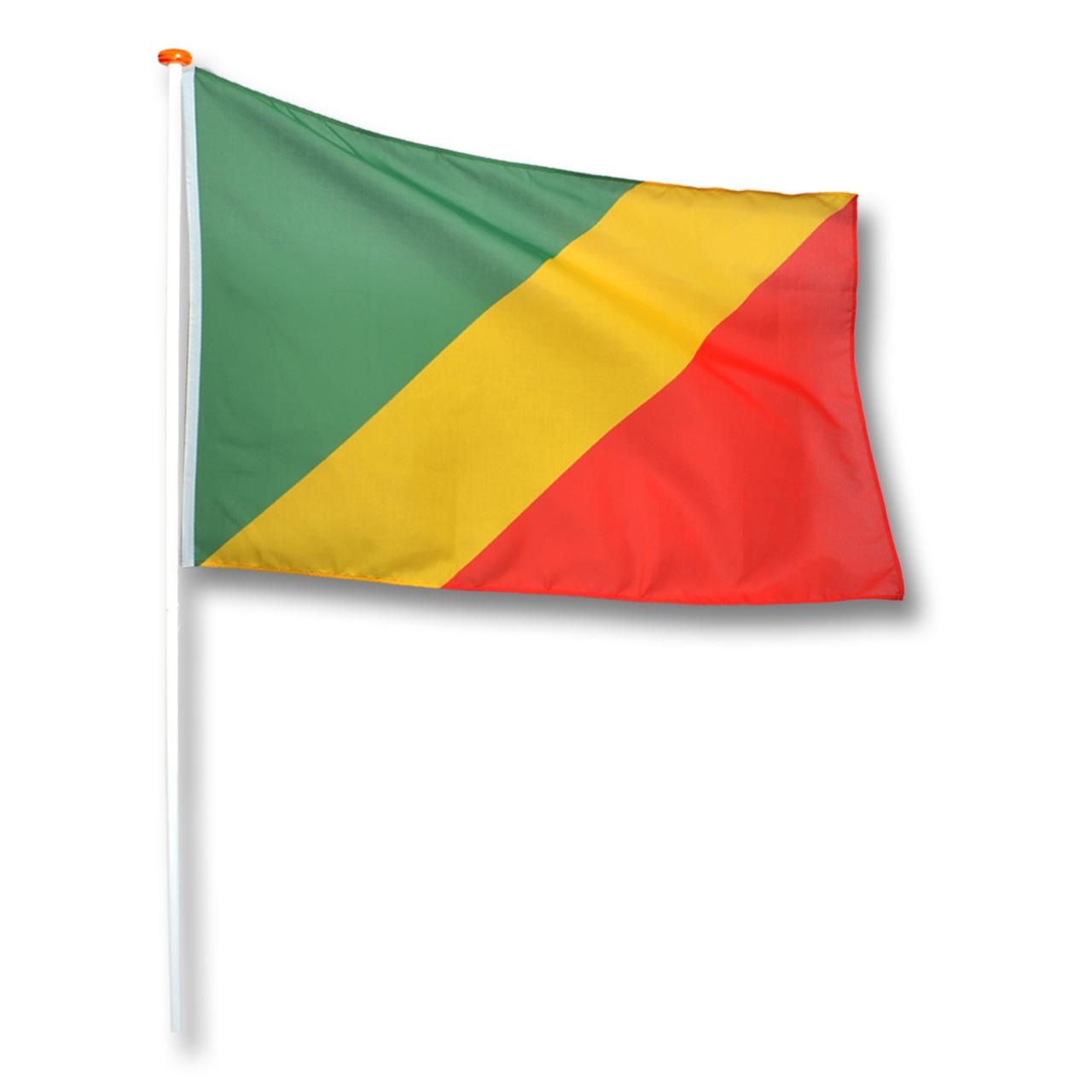 Vlag Congo (Brazzaville)