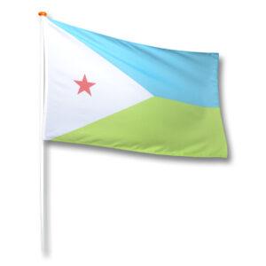 Vlag Djibouti