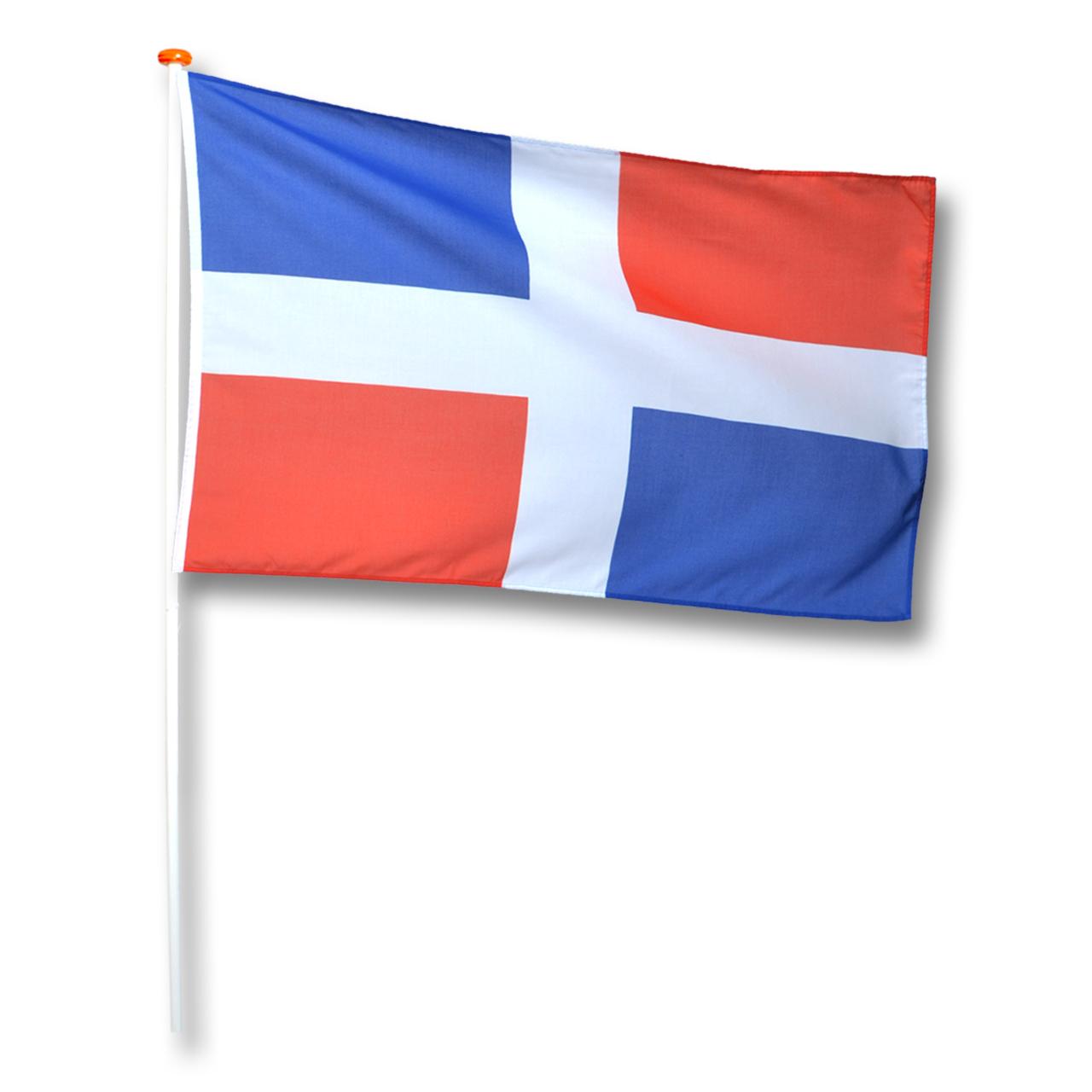 Vlag Dominicaanse-Republiek