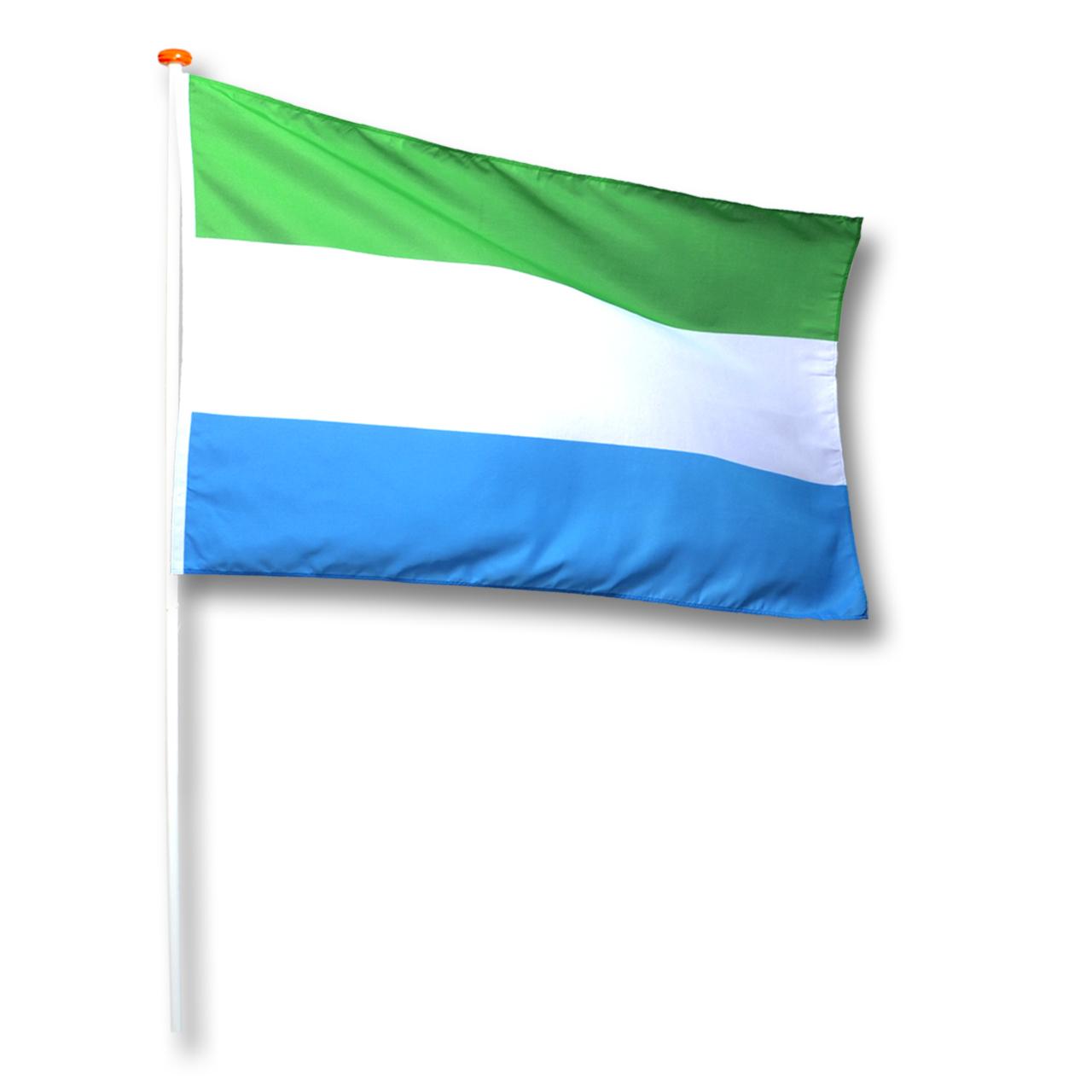 Vlag Sierra-Leone