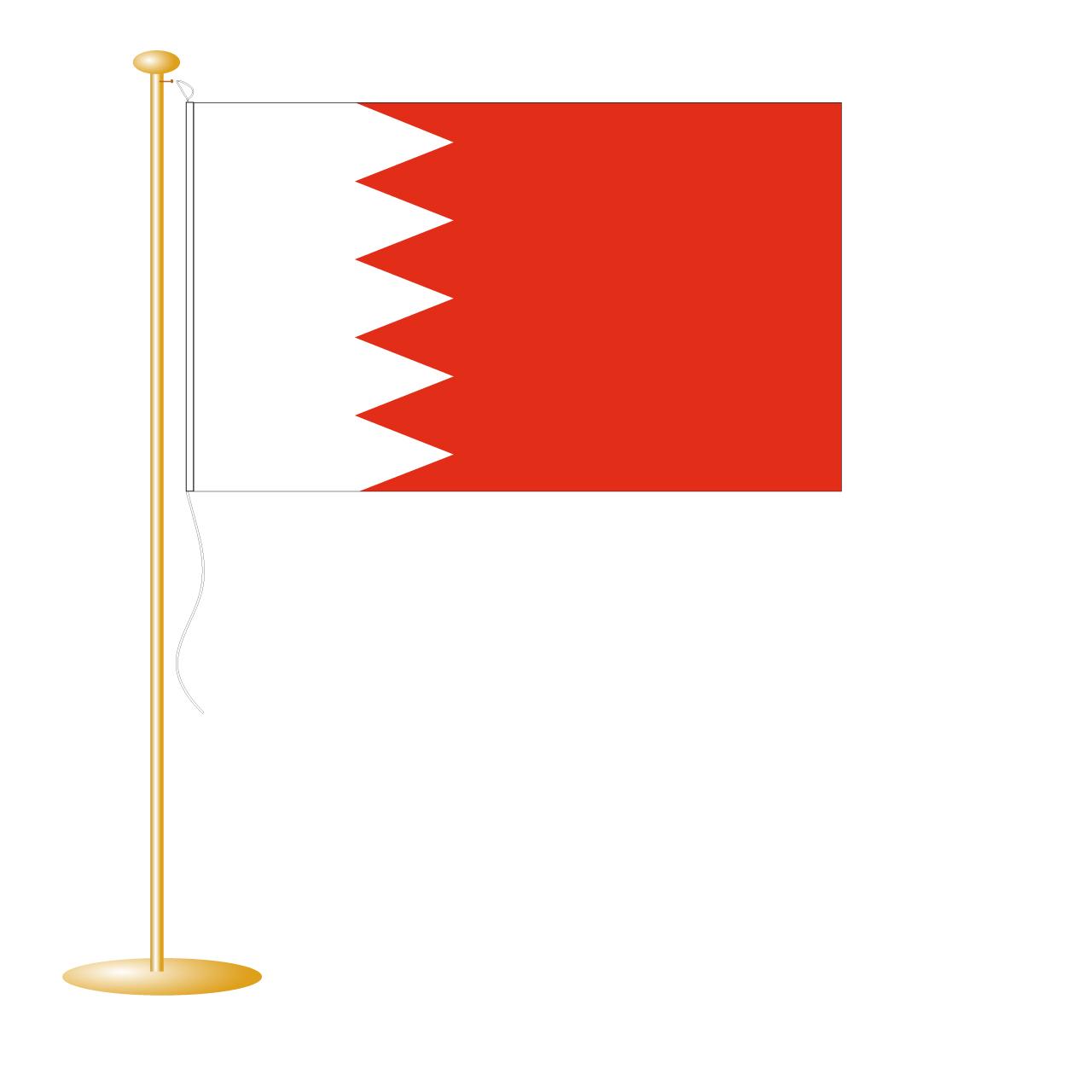 Tafelvlag Bahrein afm. 10x15cm