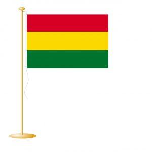 Tafelvlag Bolivia afm. 10x15cm