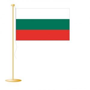 Tafelvlag Bulgarije afm. 10x15cm