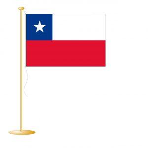 Tafelvlag Chili afm. 10x15cm