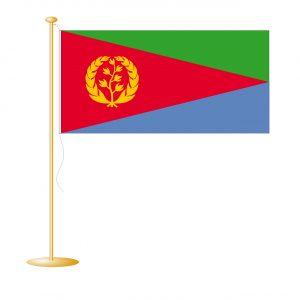 Tafelvlag Eritrea afm. 10x15cm