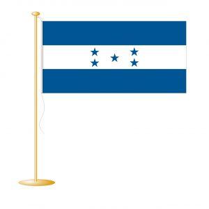 Tafelvlag Honduras afm. 10x15cm