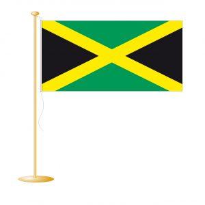 Tafelvlag Jamaica afm. 10x15cm