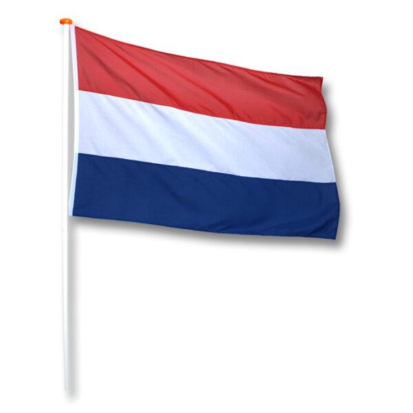 Vlag Nederland Donker Blauw