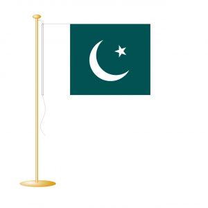 Tafelvlag Pakistan afm. 10x15cm