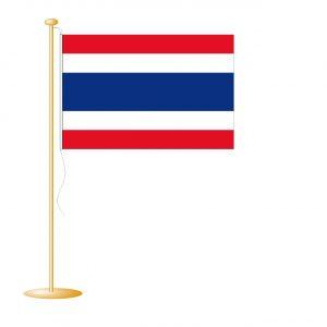 Tafelvlag Thailand afm. 10x15cm