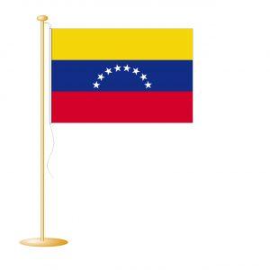 Tafelvlag Venezuela afm. 10x15cm