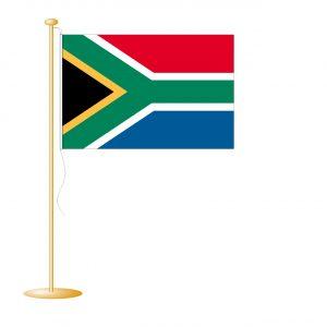 Tafelvlag Zuid-Afrika afm. 10x15cm