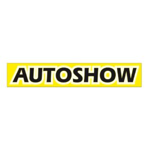 Spandoek Autoshow afm. 80x500cm