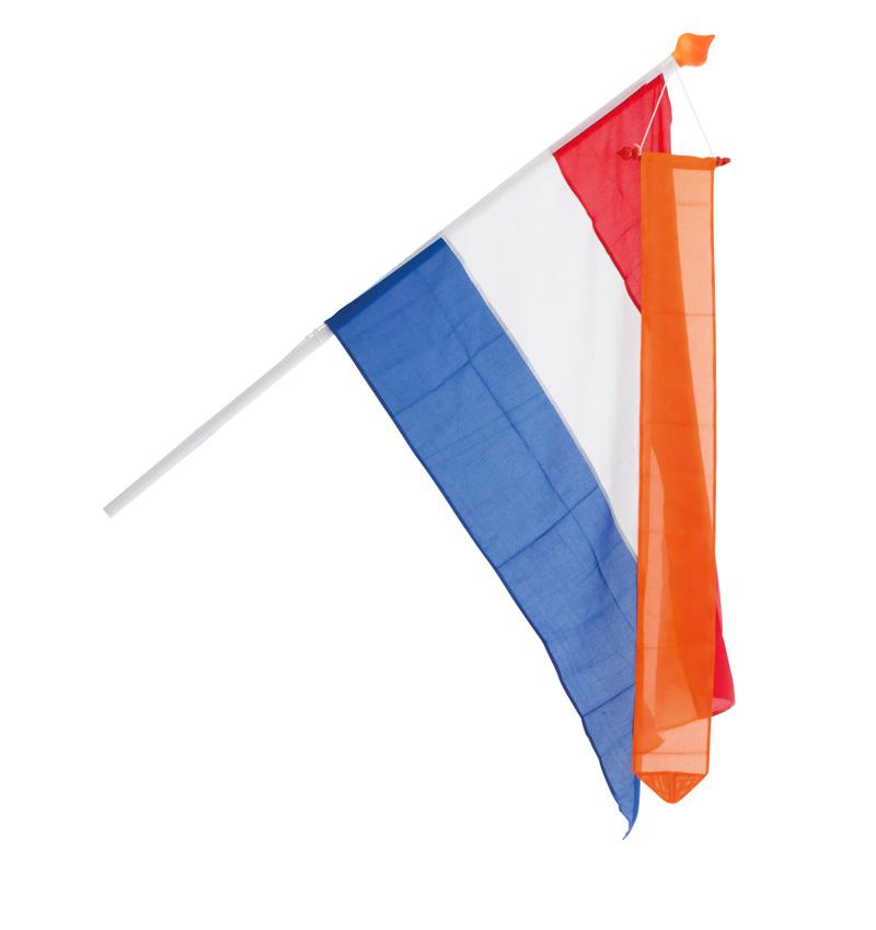 Vlaggenset Nederland Luxe