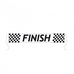 Spandoek Finish afm. 80x500cm