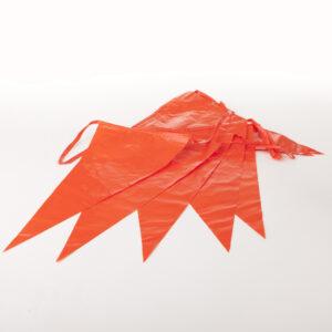 Vlaggenlijn Oranje PVC
