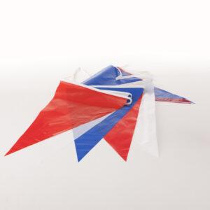 Vlaggenlijn Rood-Wit-Blauw PVC