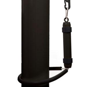 Vlaggenmast gewicht zwart met vaste ring