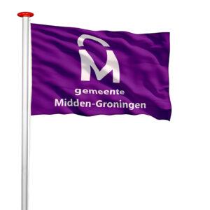 Gemeentevlag Midden-Groningen