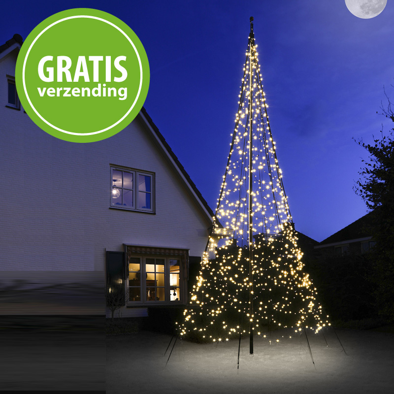 Kerstverlichting FairyBell 1200 LED warm wit